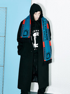 [OULET 70% SALE] Generative D Tape Coat (BK)