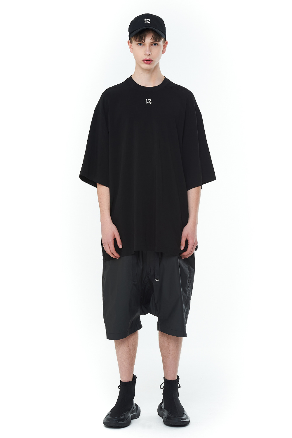 [20SS][30% SALE] Double Face Signature T-Shirts (BK)_ PA1TS1313