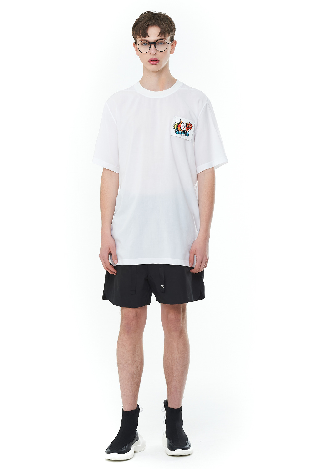 [20SS][30% SALE] Old School Basic T-Shirts (WH)_ PA1TS3232